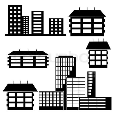 Saltbox Architecture Different Kind Of Houses And Buildings Vector