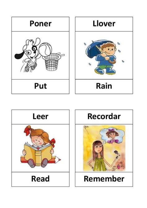 imagenes ingles verbos verbos en ingles con dibujos by melina calizaya via