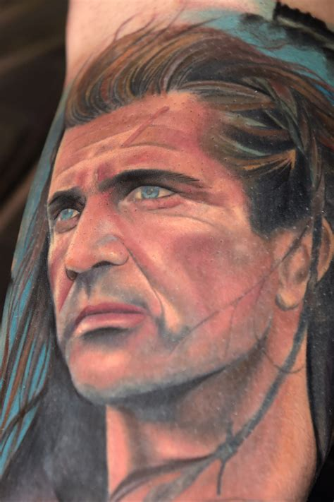 braveheart tattoo designs fan spends 163 1 800 on braveheart of his