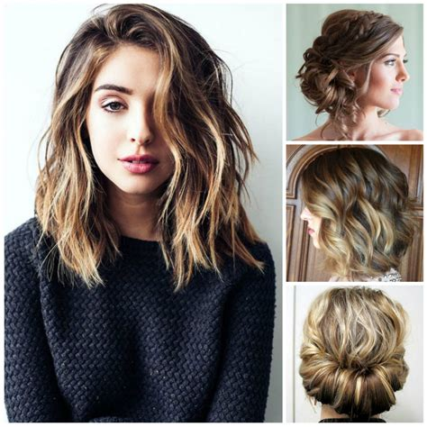 Medium Hairstyles 2017 For by Marvelous Medium Hairstyles Fall 2017 Pictures Best Way