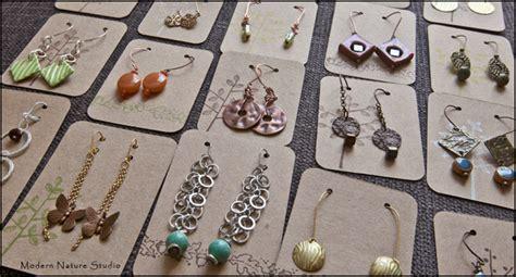 Handmade Earring Cards - image gallery handmade earring cards