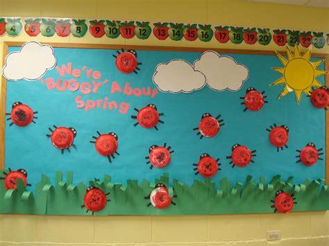 bulletin board ideas preschoolers preschool mount prospect bug quot we re quot buggy