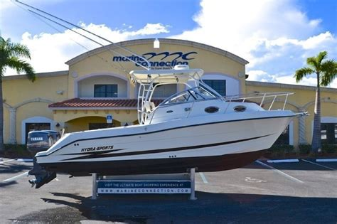 hydra sport boats specs used 2002 hydra sports 2600 walk around boat for sale in
