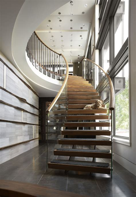 Modern Stairs Design Indoor Charismatic In Chicago Amazing Apartment In Chicago Is The Exle Of Luxury And
