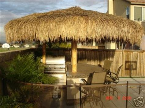 Palapa Thatch 13ft Commercial Grade Palapa Thatch Umbrella Cover Top
