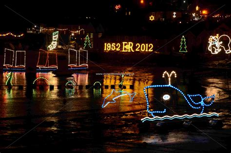 mousehole harbour lights christmas 2011