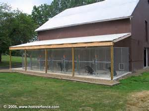barn kennels chain link kennel panel customer photos hoover fence co
