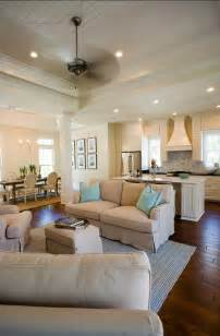 Living Room Kitchen Open Floor Plan Empty Nesters Dream Home Home Bunch Interior Design Ideas