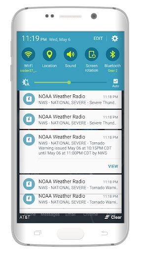noaa weather app for android noaa weather radio app for android
