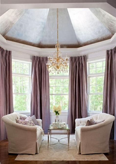 vorhänge ornamente 50 gardinen in lila hauchd 252 nne stoffe und feminines flair