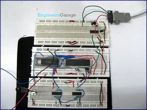 Engineer Garage by Serial Port Interfacing Adc0808 With 8051 Microcontroller