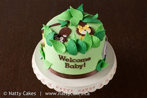 Jungle Theme Baby Shower Cakes by Jungle Theme Baby Shower Cake Flickr Photo