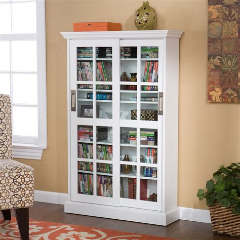 Dvd Cabinet With Sliding Doors The Best Selection Of Cd Dvd Storage Available In Cabinets Racks And Desktop Models