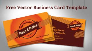 pizza business card template free vector apple iphone 6 mockup in ai eps format
