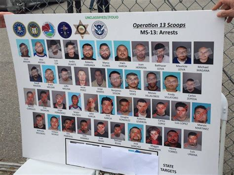 Mississippi Warrant Search Ms 13 Targeted In Pre Sweep Across Los Angeles Cbs News