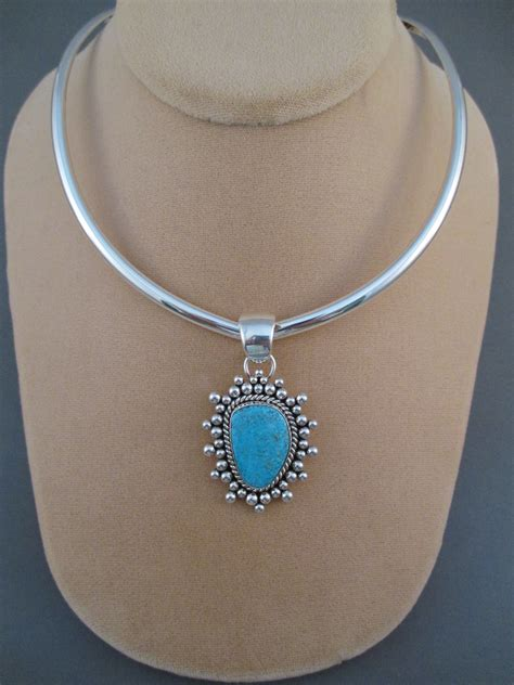 sterling silver collar necklace by artie yellowhorse