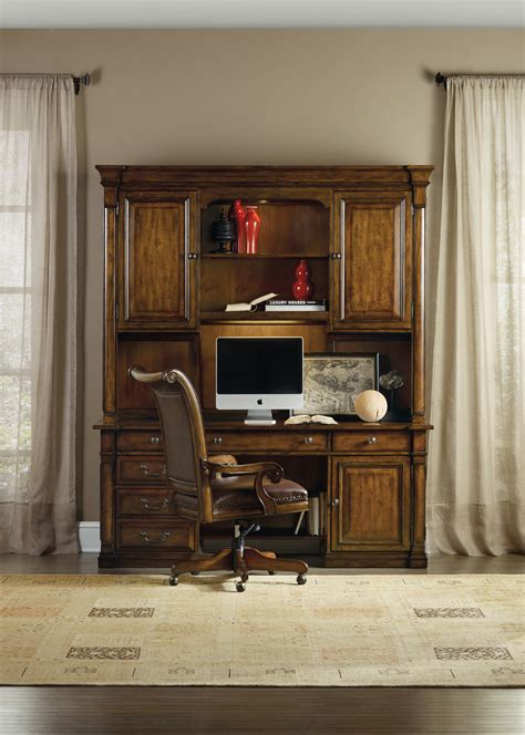 home office credenza the tynecastle home office computer credenza and hutch 15690