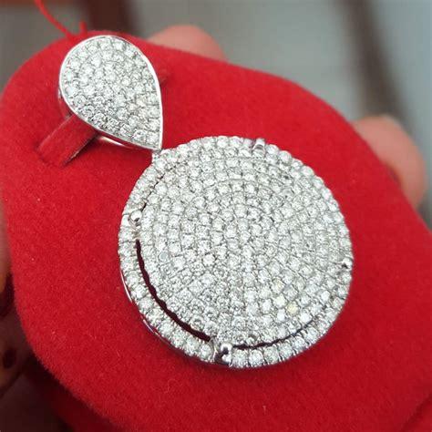 jual beli liontin fashion berlian eropa 1 52 ct ikat emas