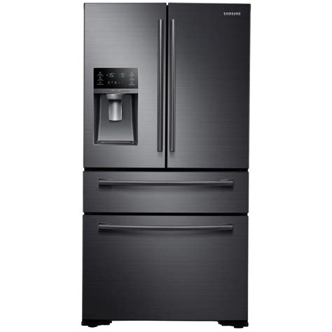 samsung microwave drawer black stainless samsung 29 7 cu ft french door refrigerator in black