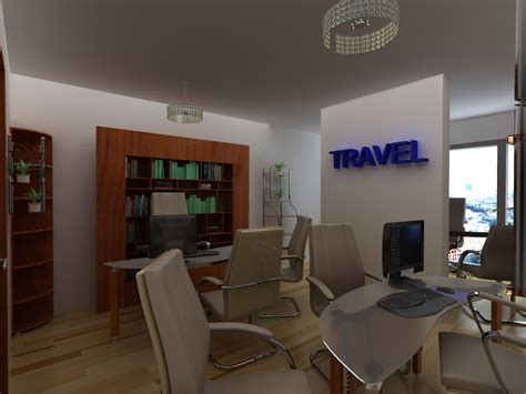 design house agency travel agency office interior design modest kitchen