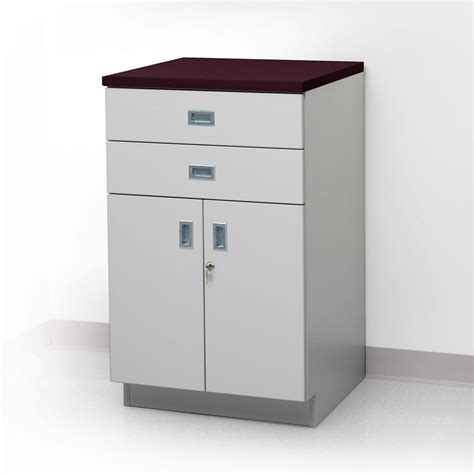 Floor Cupboards by Premium Floor Cabinet Two Drawers And One Shelf