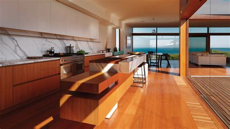 Kitchen With Backsplash Gallery Of Queenscliff Residence John Wardle Architects 7