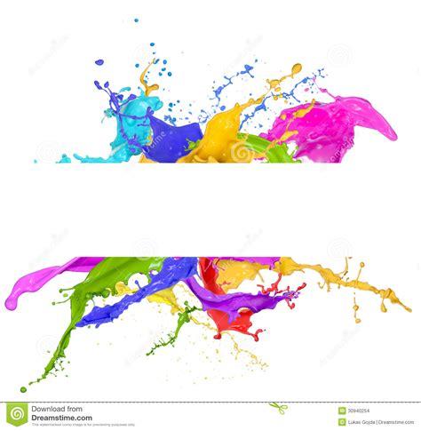 colorful paint splash white background colourful paint paint splash