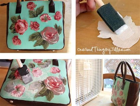 Make Your Own Decoupage - make your own one of a d 233 coupage handbag one