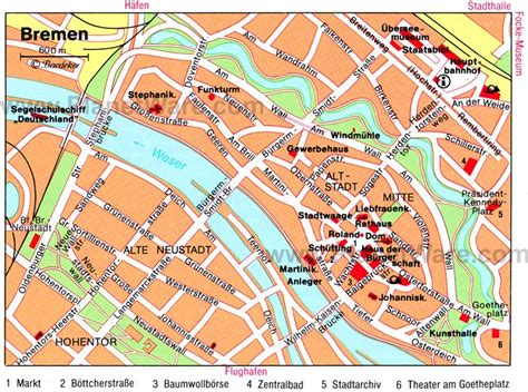 germany bremen map 10 top tourist attractions in bremen easy day trips