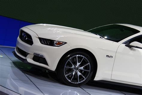 Mustang New York Auto Show 2015 by 2015 Ford Mustang 50 Year Limited Edition Debuts At 2014