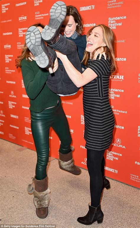 Ellen page gets a lift from allison janney and sian heder at sundance