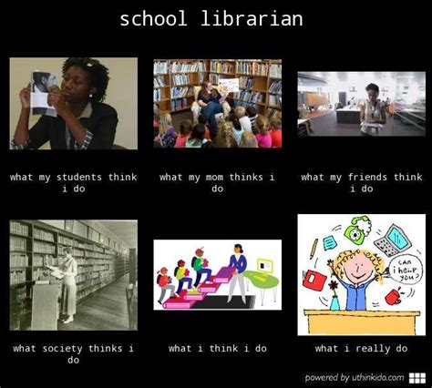Librarian Meme - school librarian what people think i do what i really do