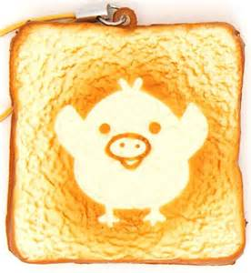 Halloween Arts N Crafts - kiiroitori toast bread squishy cellphone charm food