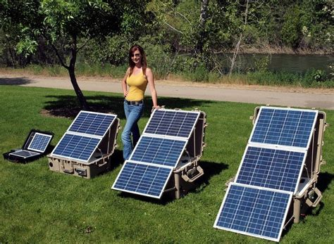 best solar power best portable solar generator on the market choosing best