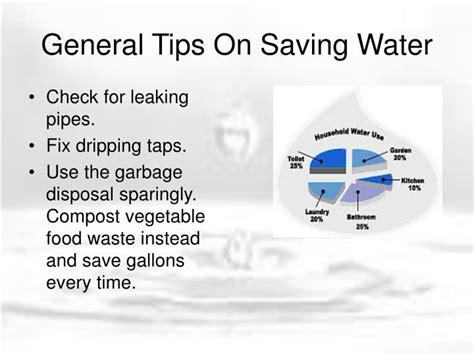 ppt tips on saving water powerpoint presentation id 3555908