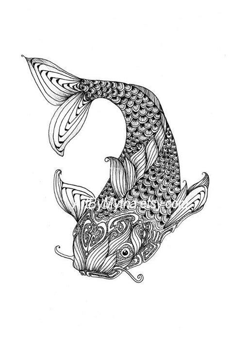 zendoodle coloring page zendoodle coloring pages zendoodle fish printable