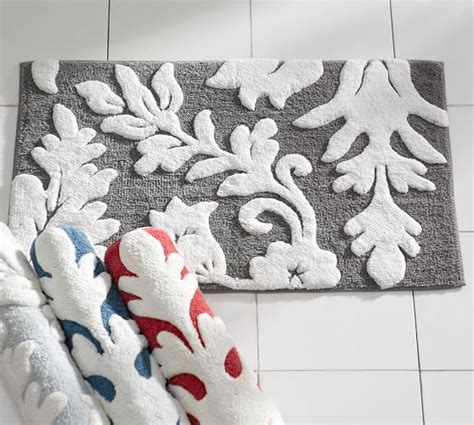 Pottery Barn Bathroom Rugs Pottery Barn Bath Rugs Grand Embroidered Bath Rug Pottery Barn Pb Essential Tufted Bath Rug