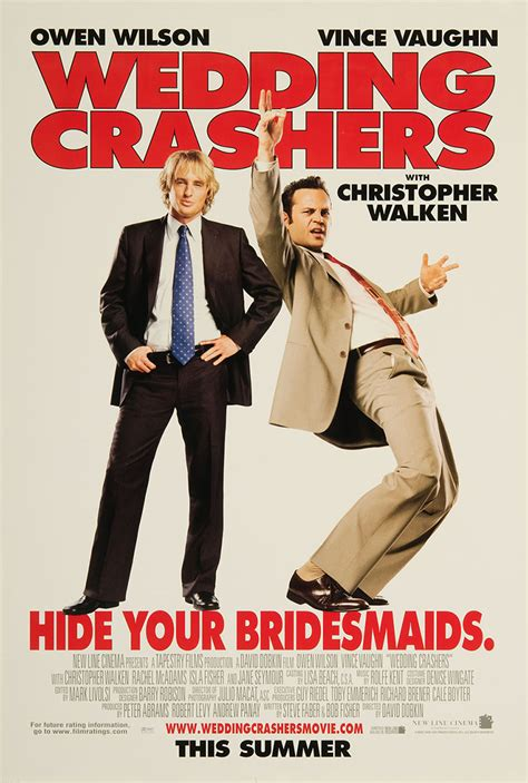 Wedding Crashers Poster by Wedding Crashers 2005 Original Poster Fff 07148