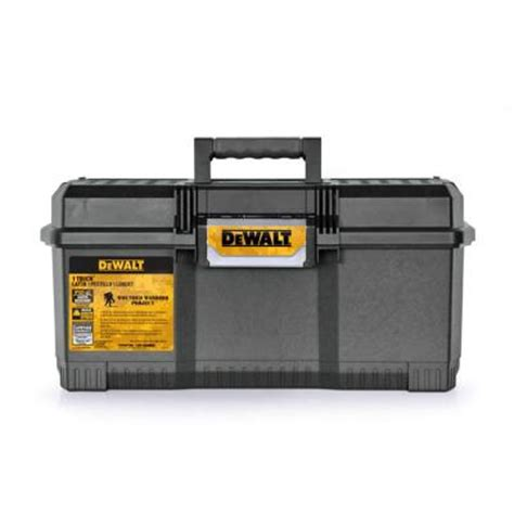 home depot tool box dewalt 24 in 1 touch tool box wounded warrior dwst24082ww