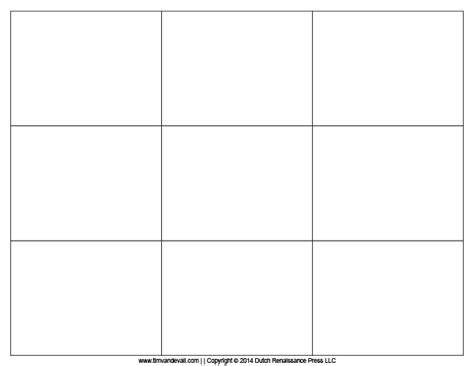 Blank Printable Cards Template by Template For Note Cards Resume Builder