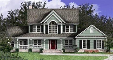 landhaus style country home plans and country style house designs for the