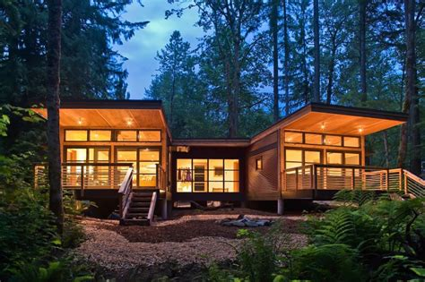 green modular homes method homes drops a new prefab house in glacier