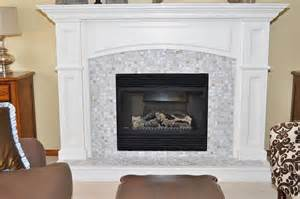 Tiled Fireplace Insert by 17 Best Images About Fireplace Surround Ideas On