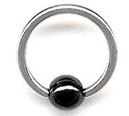 how do captive bead rings work sr0121h 18g captive hematite bead ring