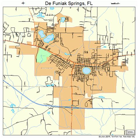 florida springs map de funiak springs florida map 1216800