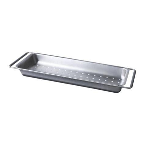 kitchen sink colander ikea domsjo colander dish rack stainless steel sink drain