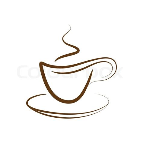 mug design background vector vector design cup off coffee isolated on a white