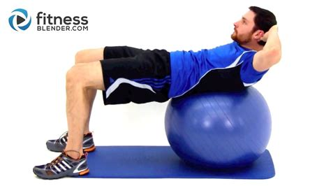 challenging exercise ab workout physioball workout for the