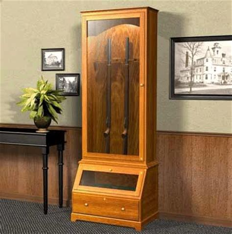free woodworking plans gun cabinet gun cabinet plans