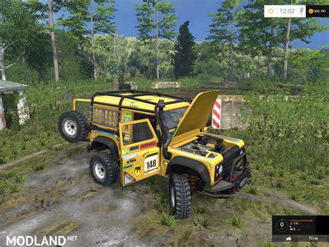 land rover dakar land rover defender dakar v 2 0 mod for farming simulator